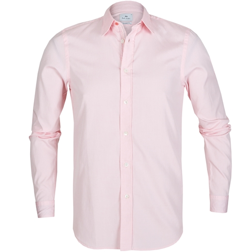 Tailored Fit Fine Oxford Cotton Shirt-essentials-Fifth Avenue Menswear