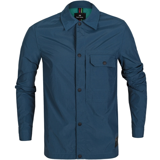 Lightweight Nylon Shirt Jacket-holiday-Fifth Avenue Menswear