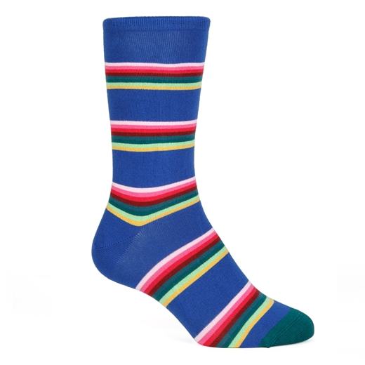 Lion Stripe Cotton Socks-new online-Fifth Avenue Menswear