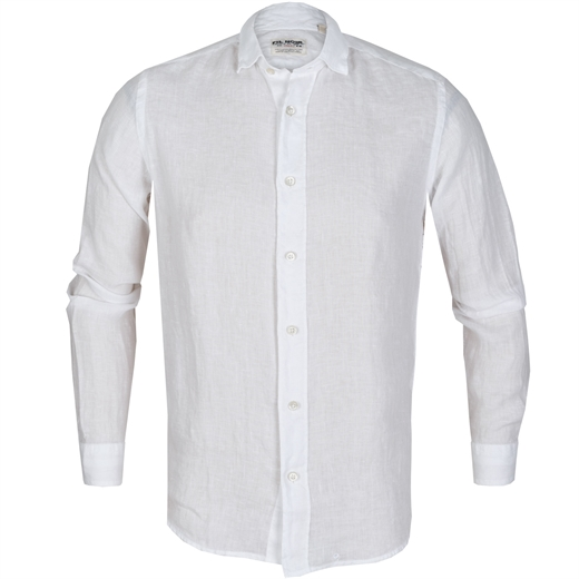 Roma Bassetti Linen Casual Shirt-new online-Fifth Avenue Menswear
