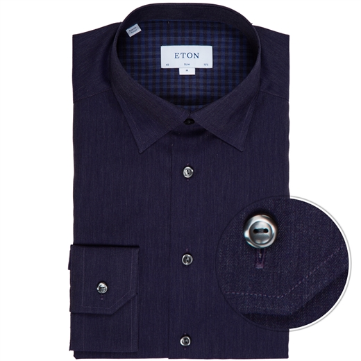 Slim Fit Herringbone Flannel Dress Shirt-new online-Fifth Avenue Menswear