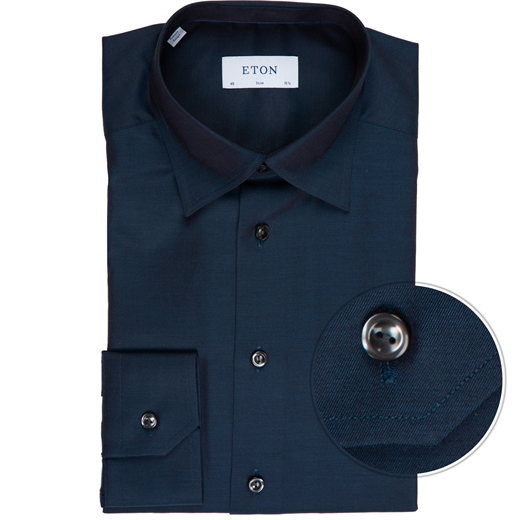 Slim Fit Luxury Twill Dress Shirt-new online-Fifth Avenue Menswear