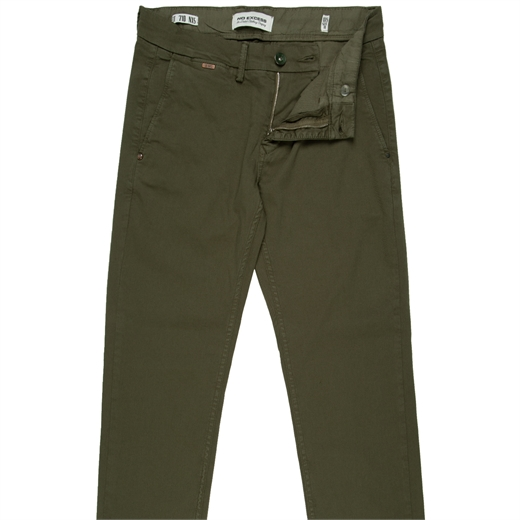 Tapered Fit Stretch Cotton Chino-new online-Fifth Avenue Menswear