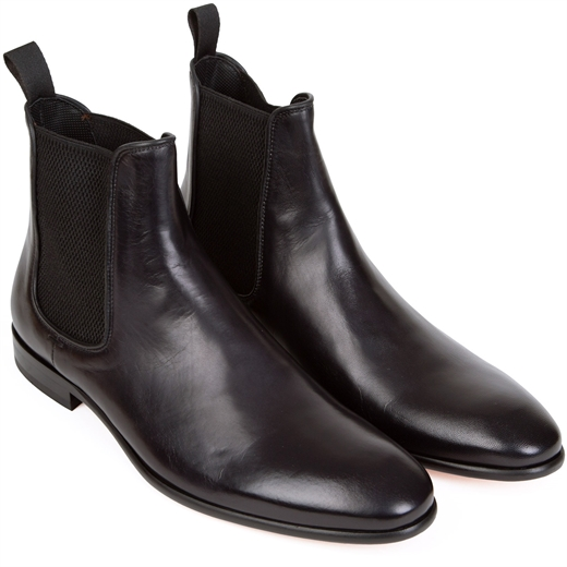 Vinny Soft Leather Chelsea Boots-essentials-Fifth Avenue Menswear