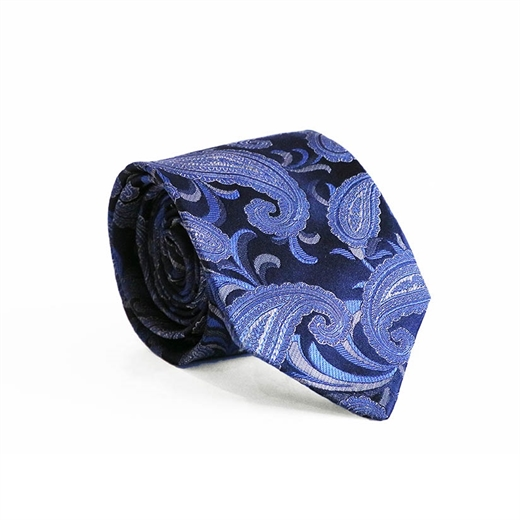 Limited Edition Siena Paisley Silk Tie-parisian 1919-Fifth Avenue Menswear