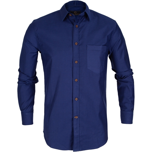 Ash Heavy Stretch Cotton Casual Shirt-new online-Fifth Avenue Menswear