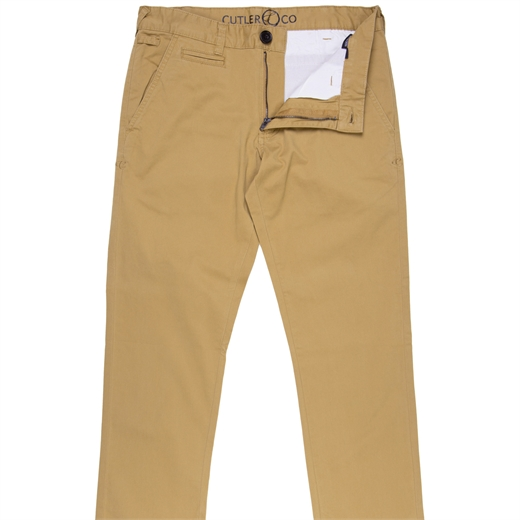 Hastin Slim Fit Stretch Cotton Chino-essentials-Fifth Avenue Menswear