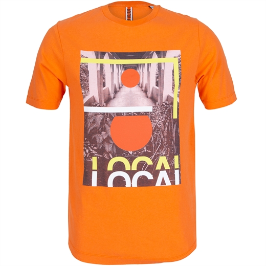 Slim Fit 'Local' Urban Jungle Print T-Shirt-on sale-Fifth Avenue Menswear