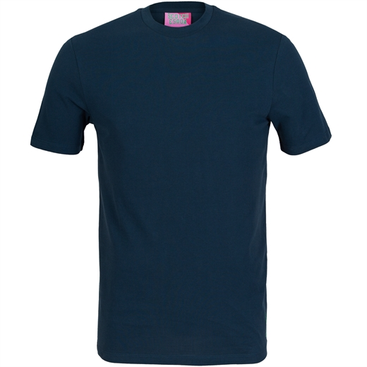 Slim Fit Cotton Pique T-Shirt-on sale-Fifth Avenue Menswear