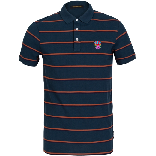 Stripe Cotton Pique Polo-on sale-Fifth Avenue Menswear