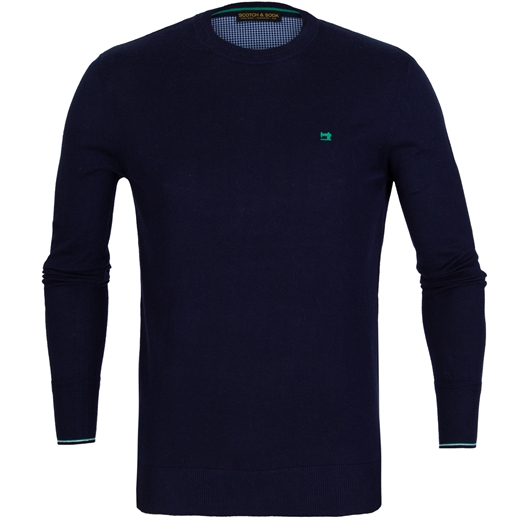 Classic Cotton/Wool Crew Neck Pullover-new online-Fifth Avenue Menswear
