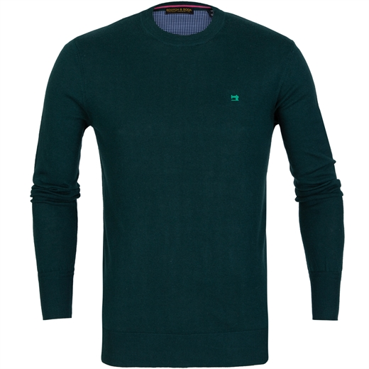 Classic Cotton/Wool Crew Neck Pullover-on sale-Fifth Avenue Menswear