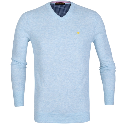 Classic Cotton/Wool V-Neck Pullover-new online-Fifth Avenue Menswear