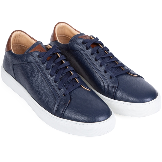 Byron Leather Lace Sneakers-new online-Fifth Avenue Menswear