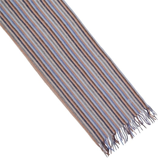 Multi Stripe Lambswool Scarf-new online-Fifth Avenue Menswear