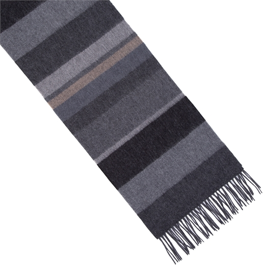 Uneven Stripe Lambswool Scarf-new online-Fifth Avenue Menswear