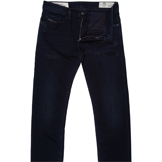 Thommer Slim Fit Distressed Stretch Denim Jeans-new online-Fifth Avenue Menswear