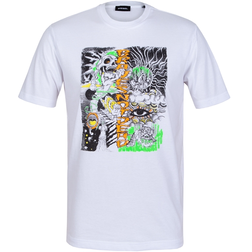 T-Just Graphic Print T-Shirt-new online-Fifth Avenue Menswear