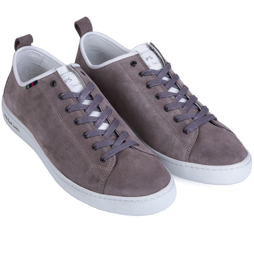 Miyata Grey Suede Leather Sneaker-new online-Fifth Avenue Menswear
