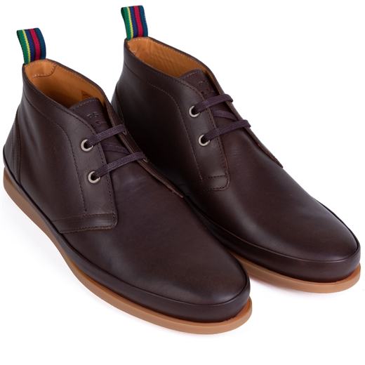 Cleon Leather Chukka Boots-new online-Fifth Avenue Menswear