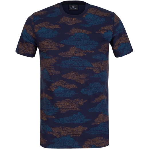 Clouds All-over Print T-Shirt-new online-Fifth Avenue Menswear