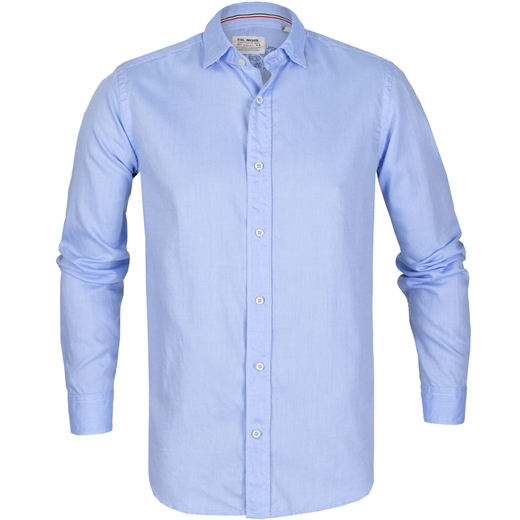 Milano Soft Cotton Twill Casual Shirt-new online-Fifth Avenue Menswear
