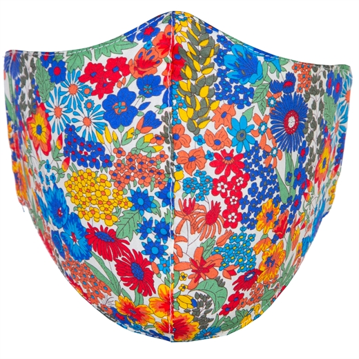 Adjustable Limited Edition Tropical Flowers Face Mask-new online-Fifth Avenue Menswear