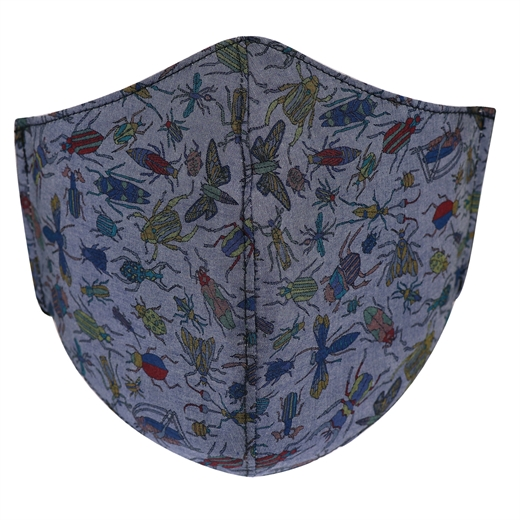 Adjustable Bug Catcher Print Face Mask-new online-Fifth Avenue Menswear