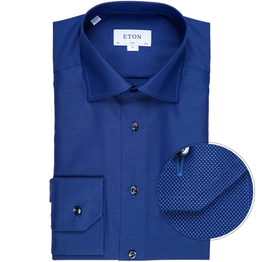 Slim Fit Luxury Cotton Dobby Weave Dress Shirt-new online-Fifth Avenue Menswear