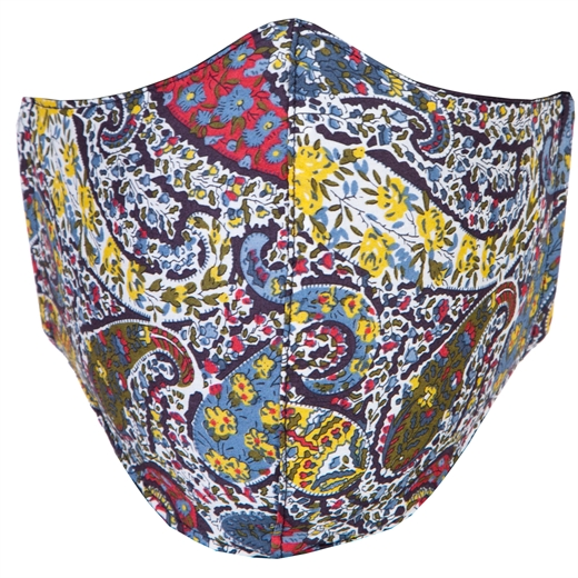 Adjustable Limited Edition Bourton Paisley Face Mask-new online-Fifth Avenue Menswear