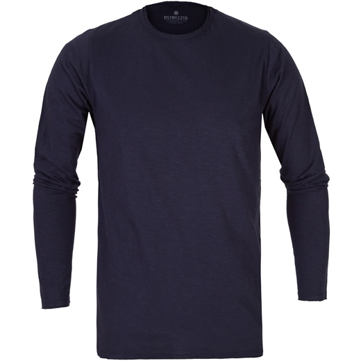 Slim Fit Newman Slub Crew Neck T-Shirt-new online-Fifth Avenue Menswear