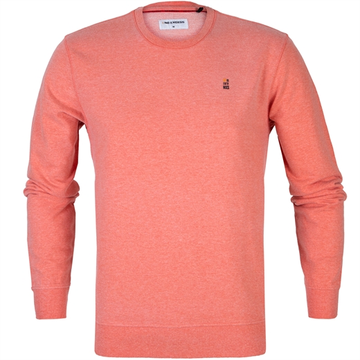 Melange Crew Neck Cotton Blend Pullover-new online-Fifth Avenue Menswear