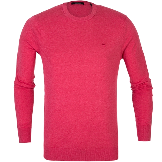 Classic Crew Cotton Cashmere Knit Pullover-knitwear-Fifth Avenue Menswear