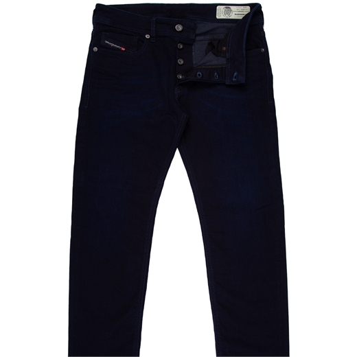 Sleenker-X Skinny Fit Dark Indigo Stretch Denim Jean-new online-Fifth Avenue Menswear