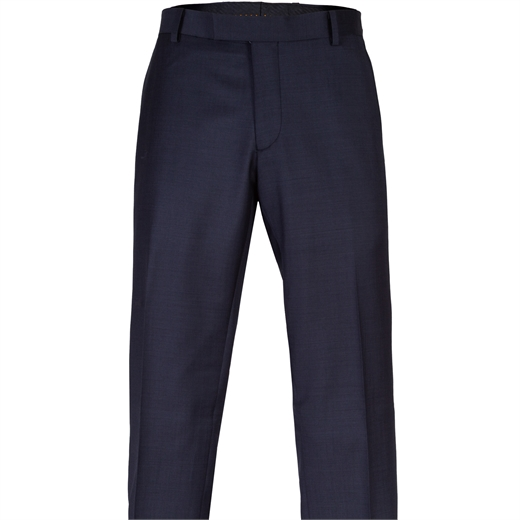 Caper Charcoal Wool Dress Trouser-new online-Fifth Avenue Menswear