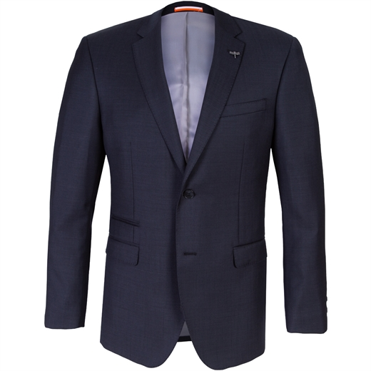 Beta Charcoal Wool Suit Jacket-new online-Fifth Avenue Menswear