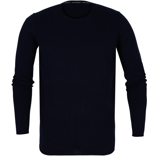 Luxury Roll Edge Cotton Pullover-new online-Fifth Avenue Menswear