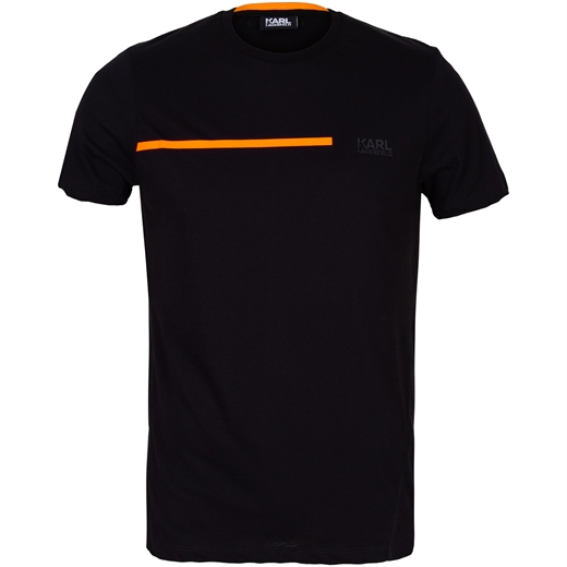 Luxury Cotton Bright Line T-Shirt-new online-Fifth Avenue Menswear