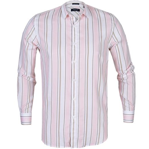 Light Satin Stripe Casual Shirt-new online-Fifth Avenue Menswear