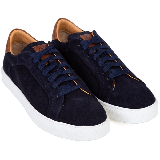 Byron Suede Lace Sneakers-new online-Fifth Avenue Menswear