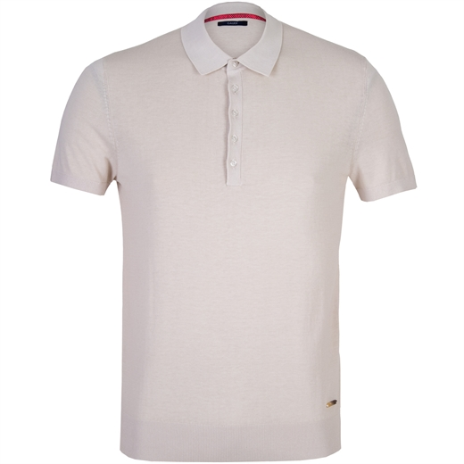 Slim Fit Cotton Knit Polo-new online-Fifth Avenue Menswear