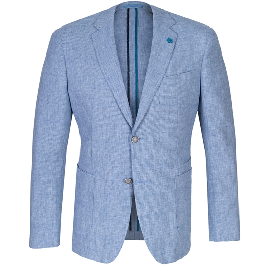 Atom Linen & Cotton Blazer-new online-Fifth Avenue Menswear