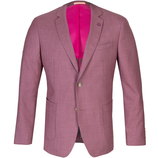 Pink Electron Wool Dress Jacket-new online-Fifth Avenue Menswear