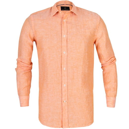 Blake Linen Casual Shirt-holiday-Fifth Avenue Menswear