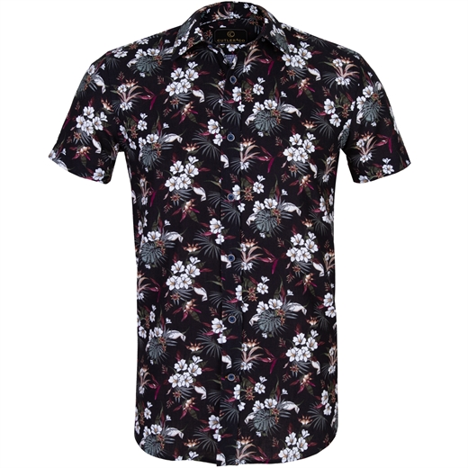 Brody Tropical Floral Cotton & Linen Casual Shirt-new online-Fifth Avenue Menswear