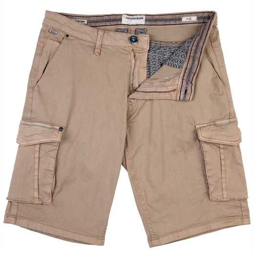 Stretch Cotton Twill Cargo Shorts-new online-Fifth Avenue Menswear