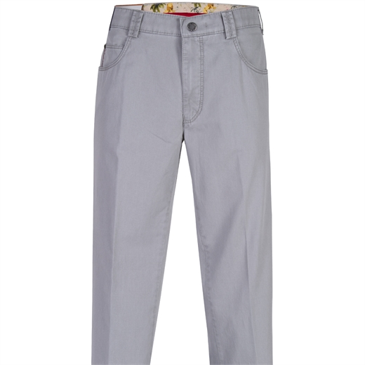 Diego Luxury Stretch Cotton Casual Trouser-new online-Fifth Avenue Menswear