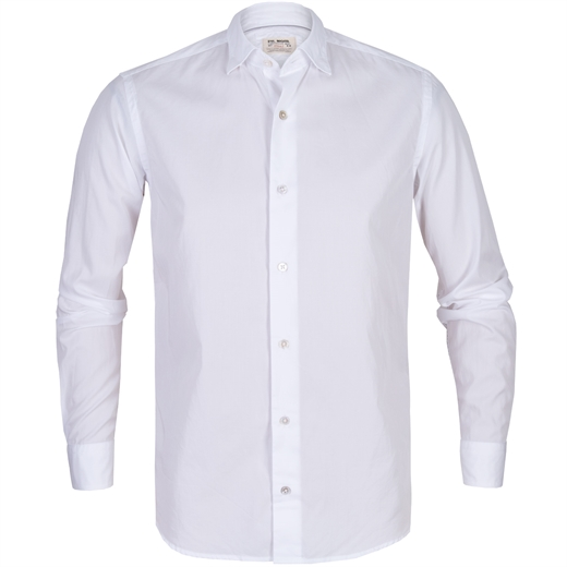 Roma Super Fine Ultra Twill Cotton Casual Shirt-new online-Fifth Avenue Menswear