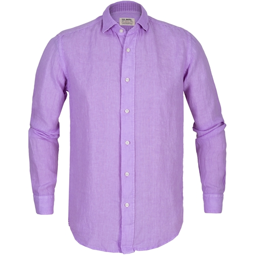 Roma Soft Wash Bassetti Linen Casual Shirt-new online-Fifth Avenue Menswear