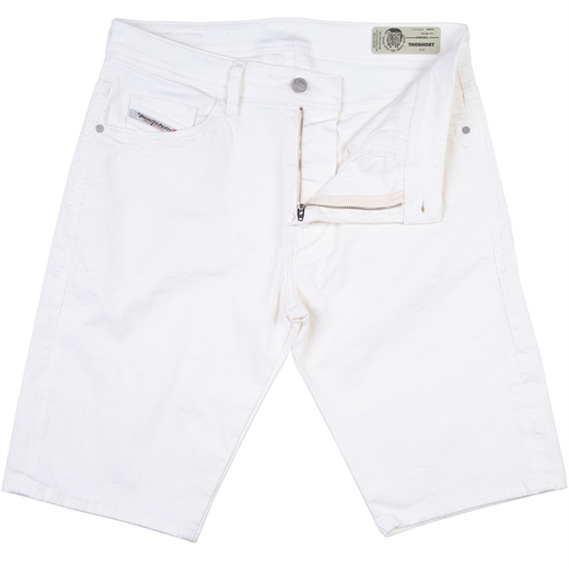Thoshort Regular Slim Fit White Stretch Denim-new online-Fifth Avenue Menswear